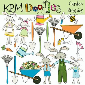 KPM Garden Bunnies COMBO