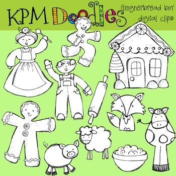 KPM Ginger Bread boy Stamps