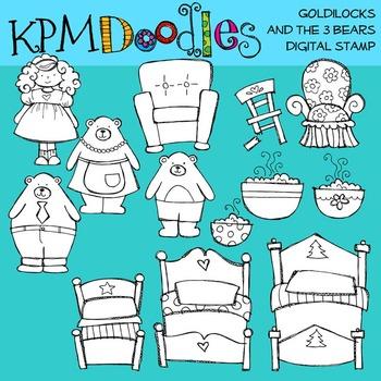 KPM Goldilocks Stamps