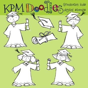 KPM Graduation kids Stamps