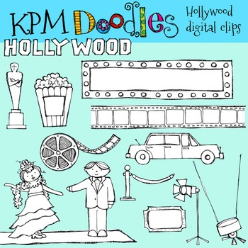KPM Hollywood Stamps