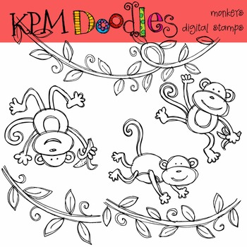 KPM Monkey Business Stamps