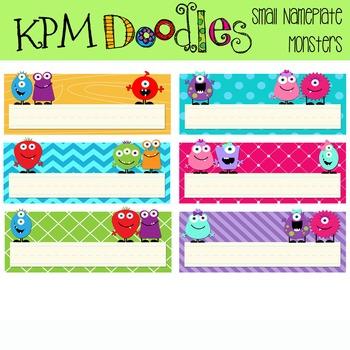 KPM Monster nameplates Small