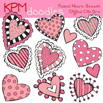 KPM Pastel heart attack