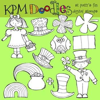 KPM St Patricks Day Fun Stamps