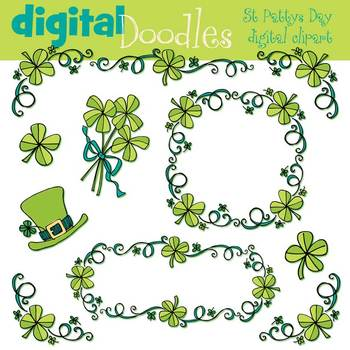 KPM St Patty's Borders and trims