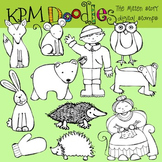 KPM THe Mitten Stamps