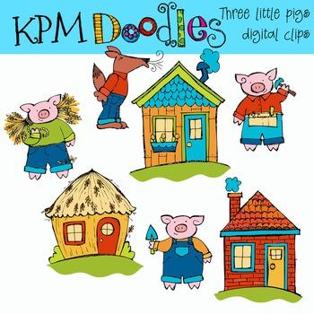 KPM THe Three Pigs
