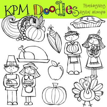 KPM Thanksgiving Stamps