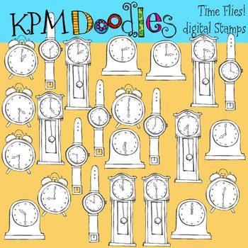 KPM Time Flies Stamps