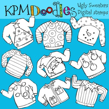 KPM Ugly Sweaters Stamps
