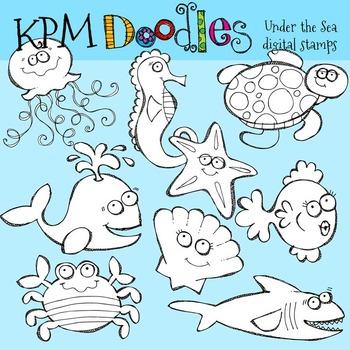 KPM Under the Sea Stamps