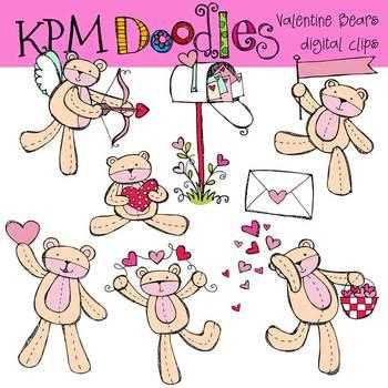 KPM Valentine Bears