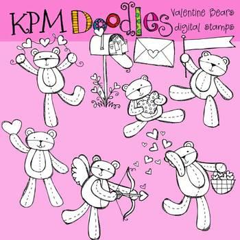 KPM Valentine Bears Stamps