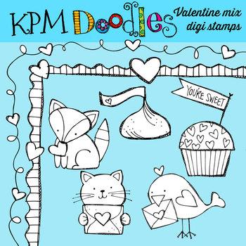 KPM Valentine Mix Stamps