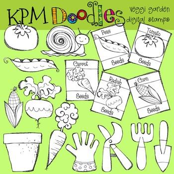 KPM Veggi Garden Stamps