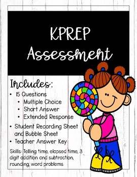 KPREP Math Practice Assessment 1