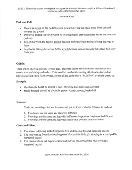 KPS2.1 Vocabulary Packet