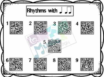 QR Code Rhythm Activity