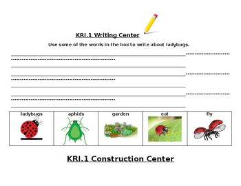 KRI.1 Ladybugs Info Text Unit