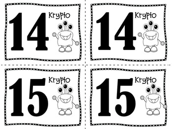 Math Review Game:  KRYPTO!