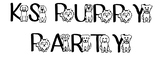 KS Puppy Party Font - Personal Use