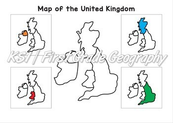 Year 1 (First Grade) Geography - Interactive Pack