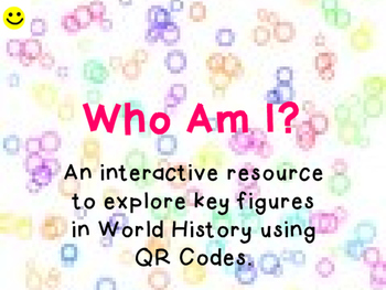 KS1/Grade 1 - 3 World History Who am I? REVIEW PACK