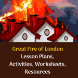 KS1 Great Fire of London - 4 Full Lesson Plans and Resources