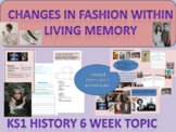 KS1 History Changes in Fashion within Living Memory
