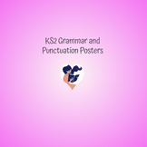 Posters, Grammar and Punctuation, KS2