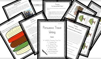 KS2 Persuasive Travel Writing Complete Unit of Work . Incl: WAGOLL