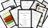 KS2 Persuasive Travel Writing Complete Unit of Work . Incl