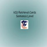 Flashcards, Sentences, KS2