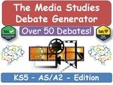 KS5 Media Studies Debate Generator [AS, A2, Media Studies]