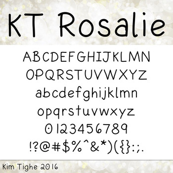 KT Rosalie Font: Commercial and Personal Use
