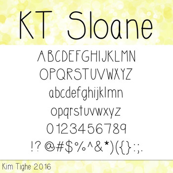 KT Sloane Font: Commercial and Personal Use