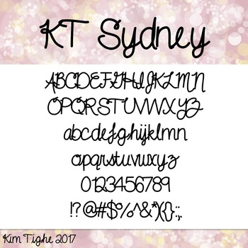 KT Sydney Font: Commercial and Personal Use