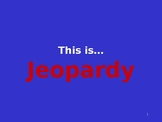 KU Sentence Writing Review Game- Jeopardy