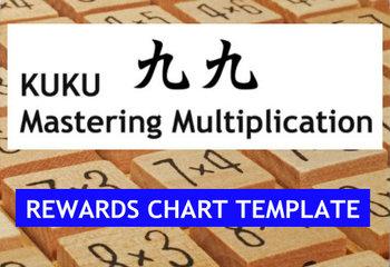 KUKU Reward Chart TEMPLATE