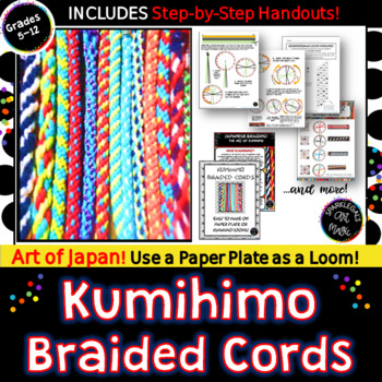 KUMIHIMO Japanese Braided Cords: Easy and Fun Friendship Bracelets!