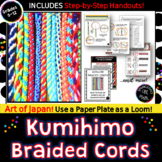 KUMIHIMO  Braided Cords: Art of Japan! Easy & Quick Friendship Bracelets!