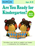 KUMON - Are You Ready for Kindergarten? - 4-5y - Math Skills