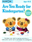 KUMON - Are You Ready for Kindergarten? - 4-5y - Pasting Skills
