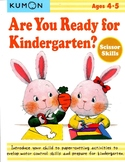 KUMON - Are You Ready for Kindergarten? - 4-5y - Scissor Skills