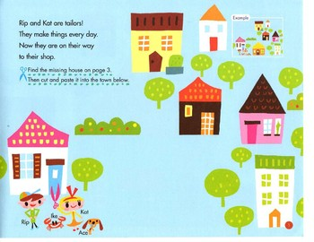 KUMON Play&Grow Cutting&Pasting Paper Ages 4+