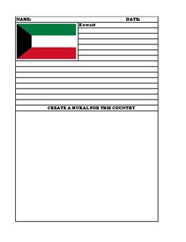KUWAIT Summary Writing and Mural Assignment