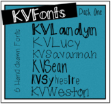 KVFonts - Pack One!