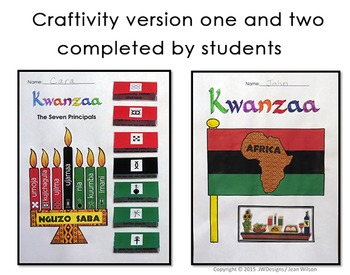 Craftivity and Literacy Activities to Celebrate Kwanzaa