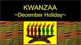 KWANZAA  - 24 pages PDF - background, maps, notated music, drumming patterns